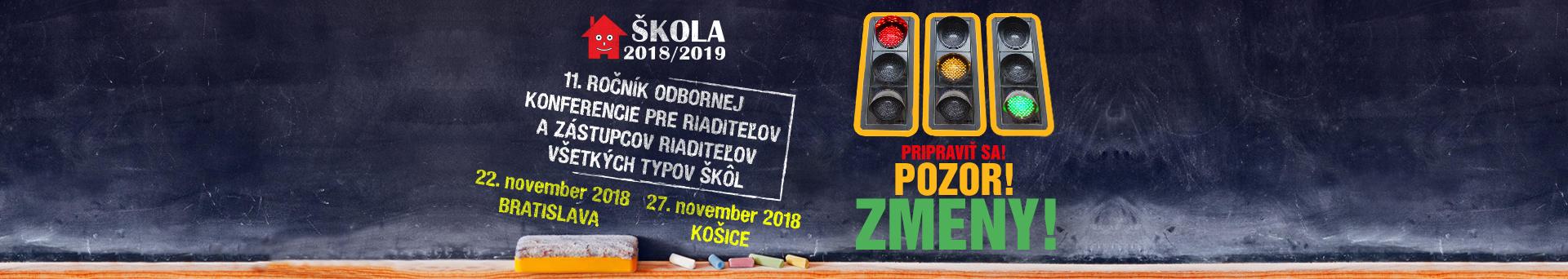 konferencia ŠKOLA