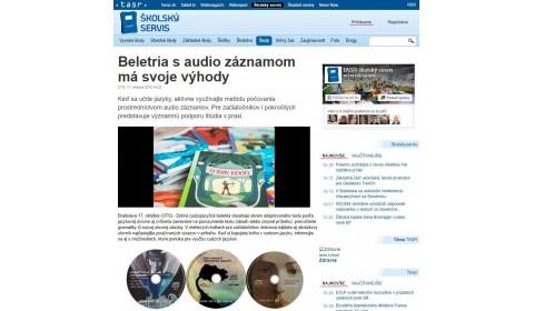 Beletria s audio záznamom má svoje výhody