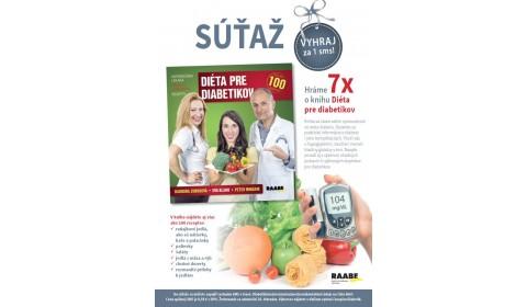 Časopis Diabetik – január 2018: Súťaž / Hráme 7x o knihu Diéta pre diabetikov