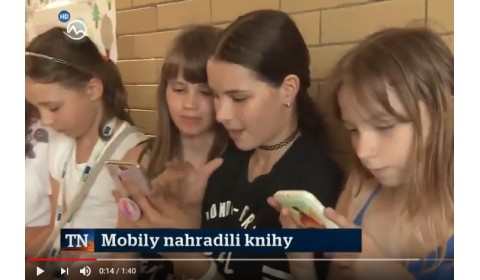 TV Markíza – 11. 6. 2018: Mobily nahradili knihy