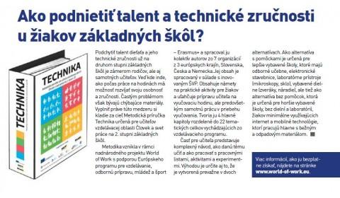 SIOV – DUÁL newsletter pre základné školy – december 2017:  Ako podnietiť talent a technické zručnosti u žiakov základných škôl?