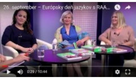 TV Bratislava – 25. 9. 2017: Európsky deň jazykov s RAABE a PONS
