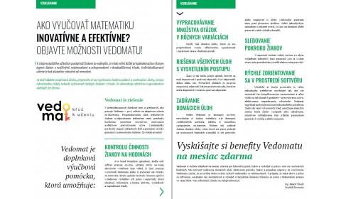 Učiteľské noviny – december 2017, strana 13: AKO VYUČOVAŤ MATEMATIKU INOVATÍVNE A EFEKTÍVNE?