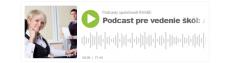 Rodina a škola/ škôlka | Podcast pre vedenie škôl | Ako na krízovú komunikáciu so zamestnancami?