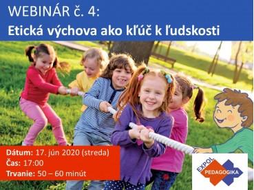 Etická výchova ako kľúč k ľudskosti | 17.06.2020