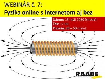 Fyzika online s internetom aj bez | 13.05.2020