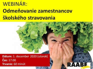 Odmeňovanie zamestnancov školského stravovania | 01.12.2020