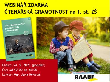 Čtenářská gramotnost na 1. stupni ZŠ | 24.05.2021