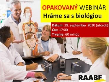 Hráme sa s biológiou | 29.09.2020