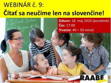 Čítať sa neučíme len na slovenčine! | 18.05.2020