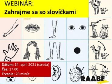 ZAHRAJME SA SO SLOVÍČKAMI | 14.04.2020