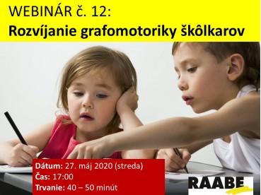 Rozvíjanie grafomotoriky škôlkarov | 27.05.2020