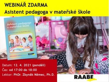 Asistent pedagoga v MŠ | 12.04.2020