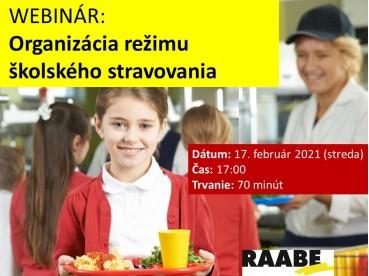 ORGANIZÁCIA REŽIMU ŠKOLSKÉHO STRAVOVANIA | 17.02.2021