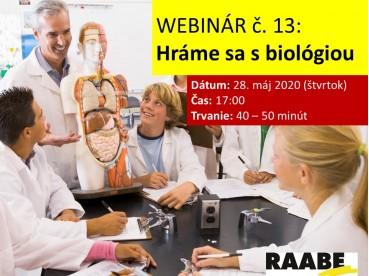 Hráme sa s biológiou | 28.05.2020