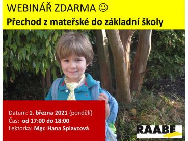 Přechod z mateřské do základní školy | 01.03.2021