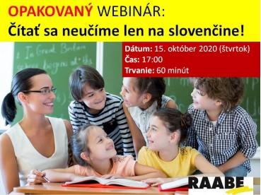 Čítať sa neučíme len na slovenčine!   15.10.2020