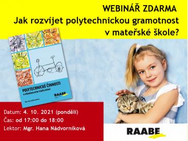 Jak rozvíjet polytechnickou gramotnost v mateřské škole? | 04.10.2021
