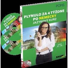 PLYNULO ZA 4 TÝŽDNE PO NEMECKY / JAZYKOVÝ KURZ + 2 CD