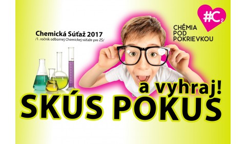 """TS Poznáme víťazov súťaže Chémia pod pokrievkou """"SKÚS POKUS"""""""
