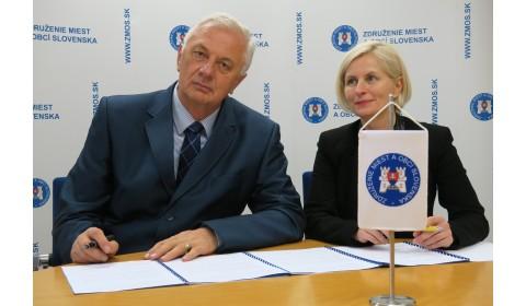 RAABE Slovensko podpísalo memorandum o spolupráci so Združením miest a obcí Slovenska
