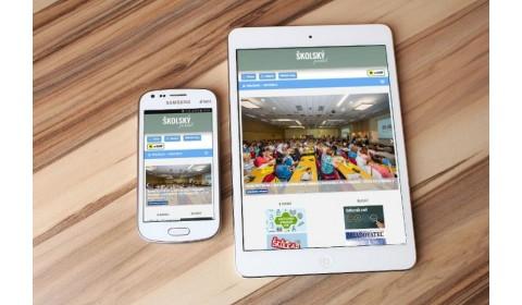 Školský portál je prístupnejší vďaka novej mobilnej aplikácii