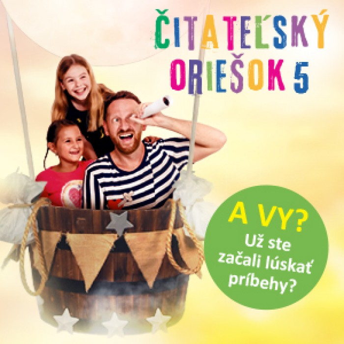 Čitateľský oriešok 5 lúska  vyše 30 000 žiakov z celého Slovenska