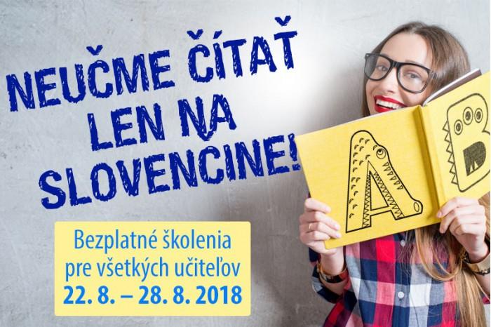 Čítate so žiakmi len na slovenčine? Chyba! Poďte na školenie a ukážeme vám, ako na to!