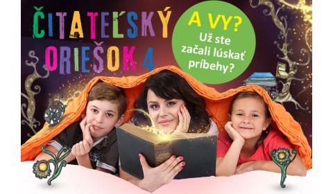 Do súťaže Čitateľský oriešok 4 sa prihlásilo takmer 29 000 žiakov zo 753 škôl!
