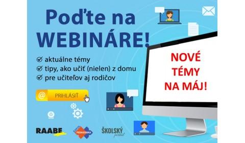 RAABE a EXPOL pokračujú vo webinároch pre učiteľov