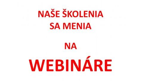 V RAABE hlavne zodpovedne: Bezplatné školenia meníme na webináre!
