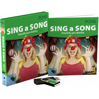 SING A SONG – PESNIČKY PRE DETIČKY + USB
