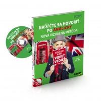 NAOČTE SA HOVORIŤ PO ANGLICKY / VIZUÁLNY JAZYKOVÝ KURZ + CD