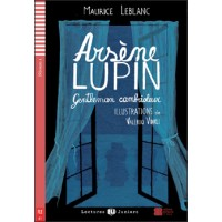 ARSÈNE LUPIN, LUPIČ – GENTLEMAN (ARSÈNE LUPIN GENTLEMAN CAMBRIOLEUR) + CD