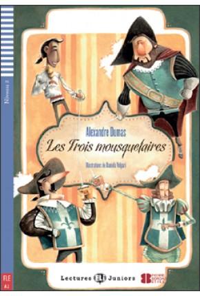TRAJA MUŠKETIERI (LES TROIS MOUSQUETAIRES) + CD