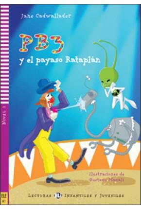 PB3 A KLAUN RATAPLÁN (PB3 Y EL PAYASO RATAPLÁN) + CD*