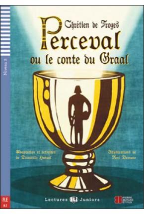 PERCEVAL ALEBO PRÍBEH SVÄTÉHO GRÁLU (PERCEVAL OU LE CONTE DU GRAAL) + CD