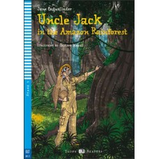 STRÝKO JACK V AMAZONSKOM DAŽĎOVOM PRALESE (UNCLE JACK IN THE AMAZON RAINFOREST) + CD