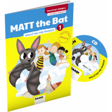 MATT THE BAT 1 – PRACOVNÁ UČEBNICA – ANGLIČTINA PRE PRVÁKOV + CD