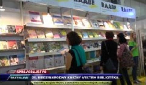 TV VEGA – 10. 11. 2017: 25. Medzinárodný knižný veľtrh Bibliotéka 2017