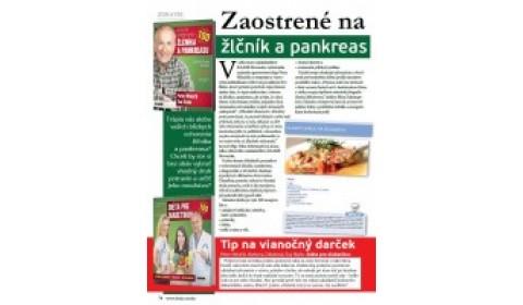 časopis Friško – zima: Zaostrené na žlčník a pankreas