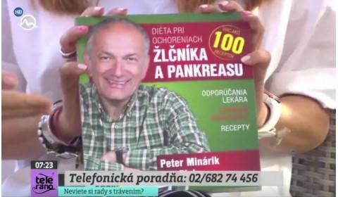 TV Markíza Teleráno – 20. 7. 2017: Diéta pri ochoreniach žlčníka a pankreasu