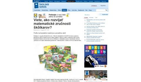 skolskyservis.sk – 3. 8. 2017: Viete, ako rozvíjať matematické zručnosti škôlkarov?