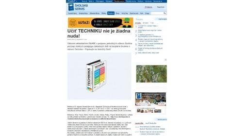 www.skolskyservis.sk – 25. 8. 2017: Učiť TECHNIKU nie je žiadna nuda!