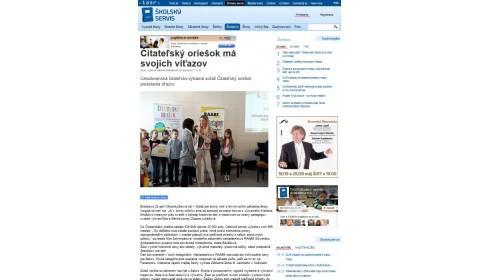 skolskyservis.sk – 20. 4. 2017: Čitateľský oriešok má svojich víťazov