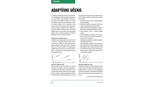 Učiteľské noviny IX/2017, strana 16: ADAPTÍVNE UČENIE