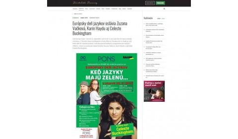 www.ucn.sk – 25. 9. 2017: Európsky deň jazykov oslávia Zuzana Vačková, Karin Haydu aj Celeste Buckingham