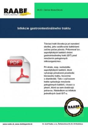 INFEKCIE GASTROINTESTINÁLNEHO TRAKTU