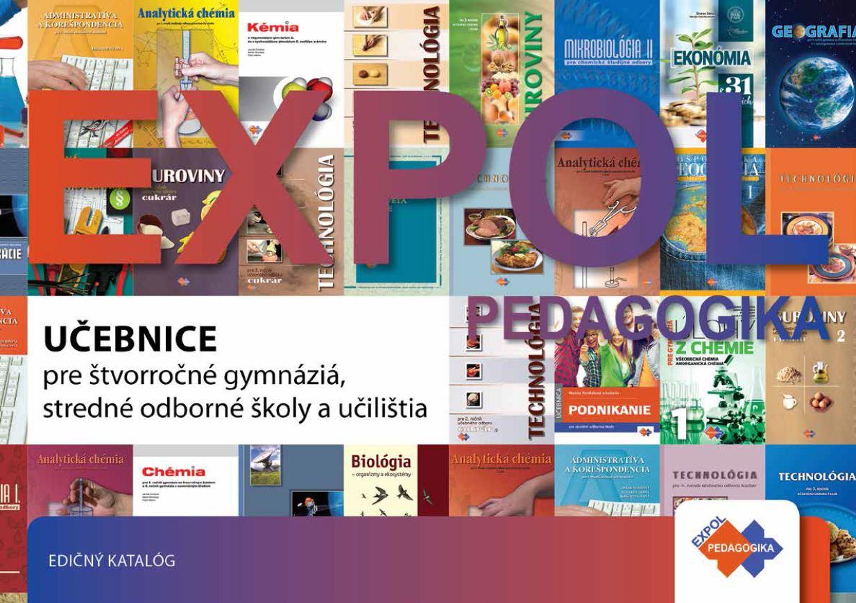 Katalóg pre 4-ročné gymnáziá a stredné školy | Expol Pedagogika